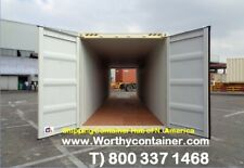 Double Doordd 40 Hc New One Trip Shipping Container In Nashville Tn