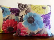 Watercolours stunning floral cushion cover
