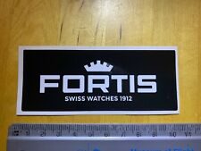 Fortis Watches promotional sticker - unused