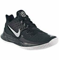 Nike Kyrie Low 2 Basketball Shoes Black/Metallic Silver AV6337-003 Men's Size 12