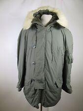 VTG Men's Greenbrier Military Cold Weather Type N-3B Parka Jacket Size M A2056