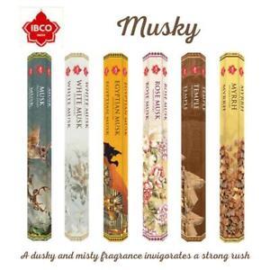 Incense Sticks IBCO Assorted Joss Stick Various Musky Fragrance + Free Holder