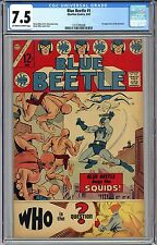 BLUE BEETLE #1 CGC 7.5 OW/WHITE PGS FREE-SHIPPING 1st Appearance The QUESTION
