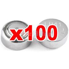 100 Batterie bottone ALCALINE a 1,5 V LR41 AG3 LR736 392 LR192 x orologi tt