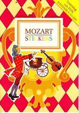 Mozart Stickers 2005 Neowelt Media Group #30002 Slim Paperback Book