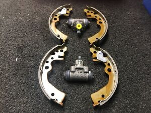 FOR NISSAN CUBE 1.4 2002-2007 BZ11 REAR BRAKE SHOES AND 2 BRAKE CYLINDERS