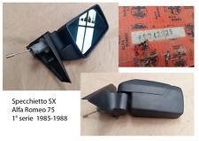 SPECCHIETTO SINISTRO sX Alfa Romeo 75 serie 1 1985-1988 n:60742925