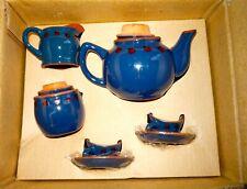 Boyd Pottery Works - Lady B. Bug Tea Set - Nib