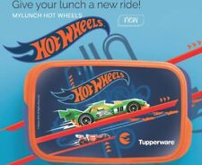 Tupperware My lunch hot Wheels With Liquid Tight Inner Container 590ml + 120 ml