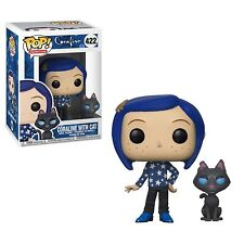 Funko - POP Movies: Coraline: Coraline with Cat buddy Brand New In Box