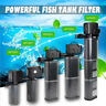 Aquarium Internal Filter Pump Submersible Fish Tank Pond Filtration Water Pump