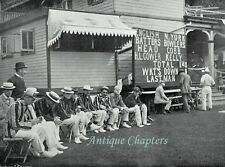 Cricket Warners Eleven New York Merion Cricket Club 1897 5 Page Photo Article