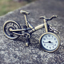 Retro metal Bicycle Key Ring Keyrings Holder Pocket Stand Watch Novelty Gift him