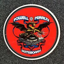 Powell Peralta Banner Dragon Skateboard Sticker 4in si