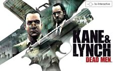 PC DVD-ROM KANE & LYNCH DEAD MEN EIDOS 18+ SPRA EDITORY ITALY GIOCO COMPLETO