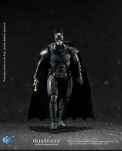 "DC Comics INJUSTICE 2 BATMAN ENHANCED 3.75"" Inch Action Figure 1:18 Scale NEW"