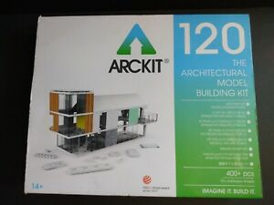 ARCKIT 120 THE ARCHITECTURAL MODEL BUILDING DESIGN TOOL 400+ PIECES