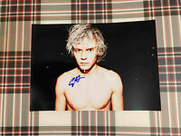 📸 Evan Peters American Horror Story signed photo 6x8 inch coa