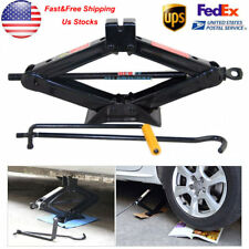 US Heavy Duty 2 Tons Wind Up Jack Stands w/ Crank Speed Handle For Truck Car SUV
