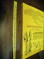 LIBRO-DISEGNI DI VIAGGIO DI LUIGI ANGELINI 1 VOLUME ,ED. 1982