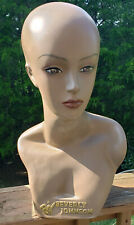 Mannequin Head Amp Partial Bust Female African American Beverly Johnson 185