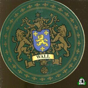 English Heraldic Coaster: Wall