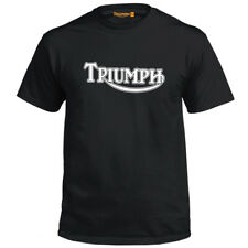 Genuine Official Triumph Motorbike Biker Motorcycle Motor Black Men T-Shirt