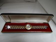 ESTATE ECCLISSI 925 STERLING SILVER HEAVY LINK BRACELET WATCH 77g !!! WOW