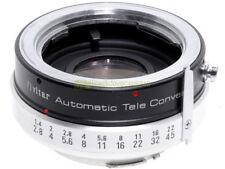 Minolta MD moltiplicatore di focale 2x Vivitar Automatic Tele Converter.