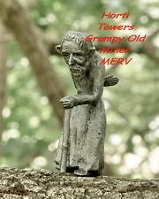 MERV The Iron Fairies (New Bag Pkg) -Grumpy Old Man Merv +2x FREE Finger Pupets