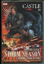 Richard Castle's Storm Season Hardcover by Brian Michael Bendis - Marvel/2012