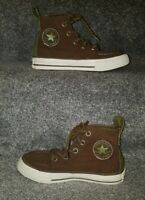 Kids Boys High Top Converse Trainers Size UK 11
