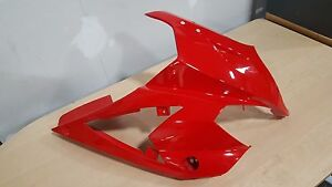 HYOSUNG COWL BODY LEFT RED GT250/650