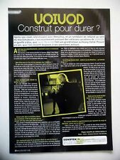 COUPURE DE PRESSE-CLIPPING : VOIVOD [1page] 04/2003 Jason Newsted