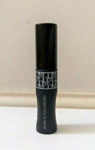 Dior diorshow pump 'N' volume HD squeezable mascara 090 black 4g