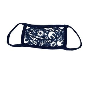 NEW STAR WARS Disney Genre Logo Cloth Face Mask - Kids Size Medium M