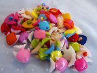 14mm Star Shaped Buttons Shank in Asst Colours Available in Packs of 2 5 or 10