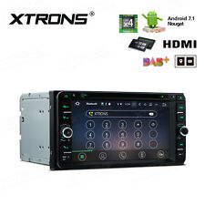 "XTRONS 6.95"" Android 7.1 HDMI Car DVD Stereo Player GPS Radio OBD2 DAB+ Toyota"