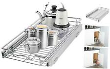 Pull Out Cabinet Drawer Organizer –Heavy Duty- Slide Out Kitchen 11�W x 21�D