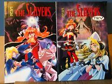 Besm The Slayers Book 1 & 3 Set 2 Nm/Mt Unread Anime Comics