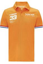 New listing Red Bull Racing F1 Formula 1 Men's Max Verstappen Polo Shirt SIZE L - Orange