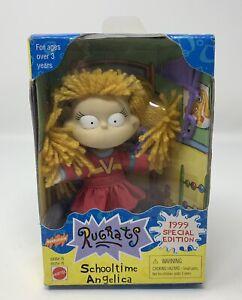 Mattel 1999 Rugrats Schooltime Angelica Collectible Figure Nickelodeon Viacom