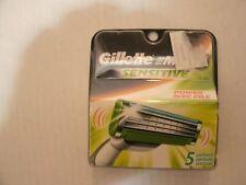 Gíllette Mach 3 Sensitive Razor Refill Cartridge 5 Ct Delivering Less Irritation