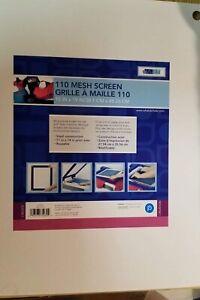 "Yudu 110 Mesh screen printing screen 15""X19"" Sealed New UPC 09357375030"