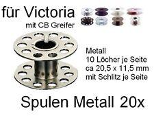 Spulen für VICTORIA Maschinen mit CB Greifer; Metall 20 St.  #MHf