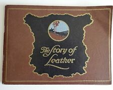 1949 The Story Of Leather Ohio Leather Company Chrome Calf Leather Pictoral