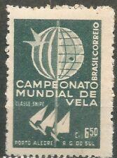 BRASIL Scott # 898 ** MNH Set Campeonato mundial de Vela
