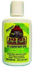 New Pro-Cure Bad Azz Color Blast 2oz Liquid Bait Dye Chart/Lime LD-CHL