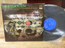 BEETHOVEN String Quartets Opus 18 No 2/3 LP VLACH QUARTET Supraphon 1 11 0848