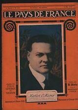 WWI Portrait Herbert Clark Hoover President  the United States 1918 ILLUSTRATION